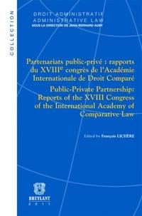 Era-circus.be Partenariats public-privé : Rapport du XVIIIe congrès de l'académie internationale de droit comparé Image