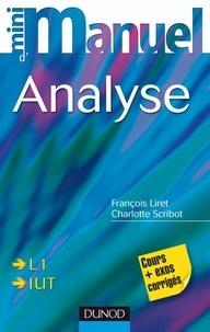 Mini manuel danalyse L1, IUT - Cours et exercices corrigés.pdf