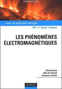 Les phénomènes électromagnétiques. Cours et exercices corrigés.pdf