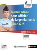 François Louvrier et Danièle Bon - Concours externe Sous-officier de la gendarmerie - Tout-en-un écrit + oral.