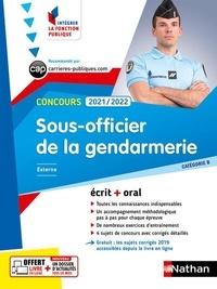 François Louvrier - Concours Sous-officier de la gendarmerie Catégorie B.