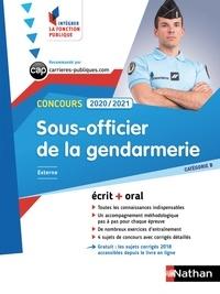 François Louvrier - Concours sous-officier de la gendarmerie.