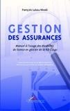 François Lukau Nkodi - Gestion des assurances - Manuel à l'usage des étudiants de licence en gestion de la RD Congo.