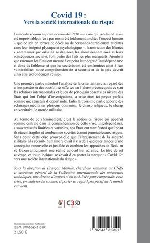 Covid 19. Vers la société internationale du risque