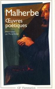 François Malherbe - Oeuvres poétiques.