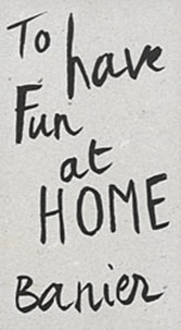 François-Marie Banier - Autocar Volume 3 - To have fun at home.