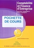 François Marty - Comptabilité et finance d'entreprise - Spécialité Comptabilité et finance d'entreprise, TSTG; Pochette de cours.
