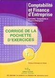 François Marty - Comptabilité et finance d'entreprise - TSTG; Corrigé des exercices. 1 Cédérom