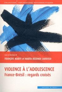 François Marty et Maria Rezende Cardoso - Violence à l'adolescence - France-Brésil : regards croisés.
