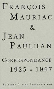 François Mauriac et Jean Paulhan - .