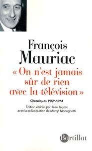 Histoiresdenlire.be On n'est jamais sûr de rien avec la télévision - Chroniques 1959-1964 Image