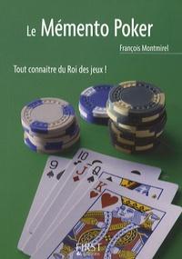 François Montmirel - Le mémento poker.