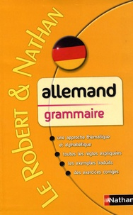 François Muller - Le Robert & Nathan Allemand Grammaire.