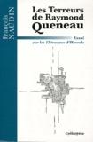François Naudin - Les terreurs de Raymond Queneau - Essai sur les 12 travaux d'Hercule.