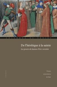 Histoiresdenlire.be De l'hérétique à la sainte - Les procès de Jeanne d'Arc revisités Image