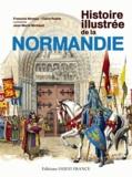 François Neveux et Claire Ruelle - Histoire illustrée de la Normandie.