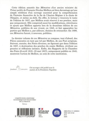 Mémoires d'un ancien ministre du Trésor public. Edition critique annotée, Tome 4