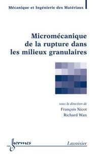 Deedr.fr Micromécanique de la rupture dans les milieux granulaires Image