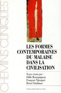 François Njiengwé et  Collectif - Les formes contemporaines du malaise dans la civilisation - [colloque national, Toulouse 25 et 26 mars 1995.