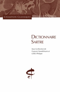 Dictionnaire Sartre - François Noudelmann |