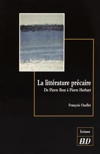 Birrascarampola.it La littérature précaire - De Pierre Bost à Pierre Herbart Image
