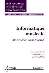 François Pachet - Informatique musicale traité IC2.