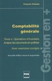 François Palumbo - Comptabilité générale - Tome 3, Opérations d'inventaire avec exercices corrigés.