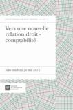 François Pasqualini - Vers une nouvelle relation droit - comptabilité - Table ronde du 30 mai 2013.