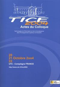 François Peccoud et Claude Moreau - Actes du colloque TICE 2004.