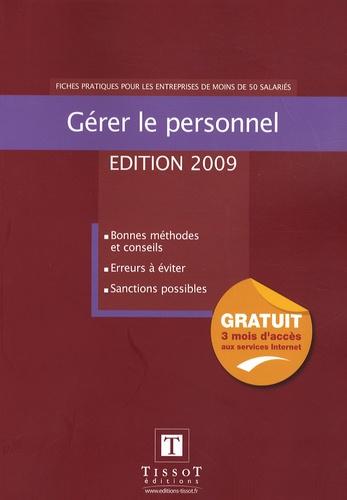 François Perrin - Gérer le personnel - Fiches pratiques pour les entreprises de moins de 50 salariés.