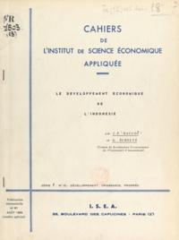 François Perroux et J. F. Haccoù - Le développement économique de l'Indonésie.