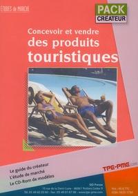 François Perroy - Pack créateur en 2 volumes : Concevoir et vendre des produits touristiques ; Création d'entreprise : le guide. 1 Cédérom