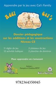 François Petit - Addi Cat's CE - Dossier pédagogique sur les additions et les soustractions.