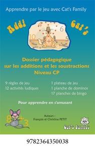 François Petit - Addi Cat's CP - Dossier pédagogique sur les additions et les soustractions.