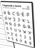 François Petit - J'apprends à écrire les majuscules et les chiffres.