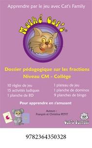 François Petit - Mathé Cat's 1 Cycle 3 - Les fractions.