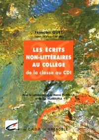 Openwetlab.it Les écrits non littéraires au collège - De la classe au CDI Image