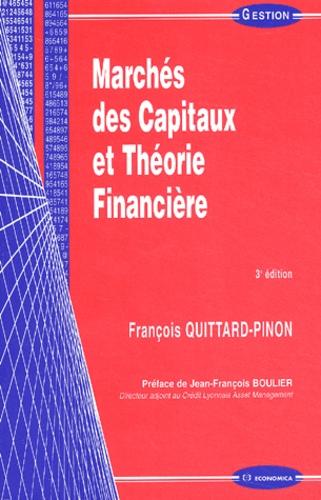 François Quittard-Pinon - Marchés des capitaux et théorie financière.