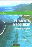 François Ramade - Eléments d'écologie - Ecologie appliquée.