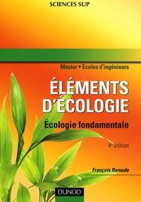 François Ramade - Eléments d'écologie - Ecologie fondamentale.