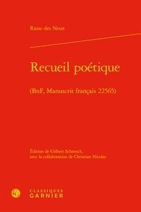 Goodtastepolice.fr Recueil poétique - BnF, manuscrit français 22565 Image