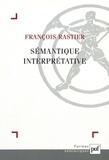 François Rastier - Sémantique interprétative.