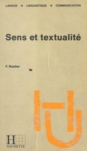 François Rastier et Bernard Quemada - Sens et textualité.