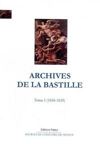 Galabria.be Archives de la Bastille - Tome 1 (1656-1659) Image