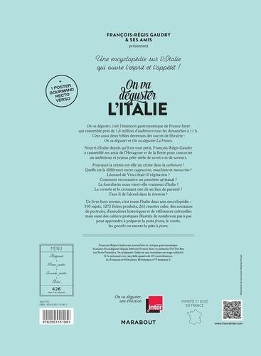 On va déguster l'Italie. Avec 1 poster gourmand recto-verso