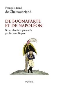 François-René de Chateaubriand - De Buonaparte et de Napoléon.