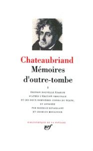 François-René de Chateaubriand - Mémoires d'outre-tombe. - Tome 1.