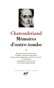 Histoiresdenlire.be Mémoires d'outre-tombe - Tome 2 Image