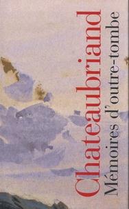 François-René de Chateaubriand - Mémoires d'outre-tombe - Coffret  2 tomes.