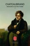 François-René de Chateaubriand - Mémoires d'outre-tombe - Volume 1.